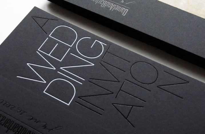 Beautiful-wedding-invitations-metallic-foil-stamped-modern-silver-black-white-3.full