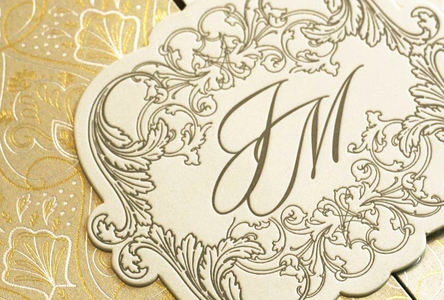 Gorgeous-foil-stamped-wedding-invitations-gold-ivory-ornate.full