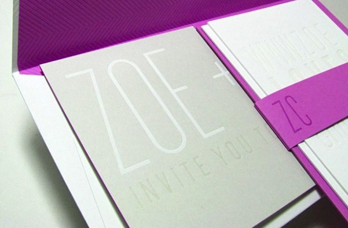 Modern-wedding-invitations-silver-gray-white-fuschia-1.full