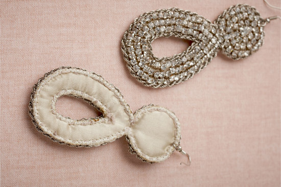 BHLDN bridal earrings for vintage glam brides