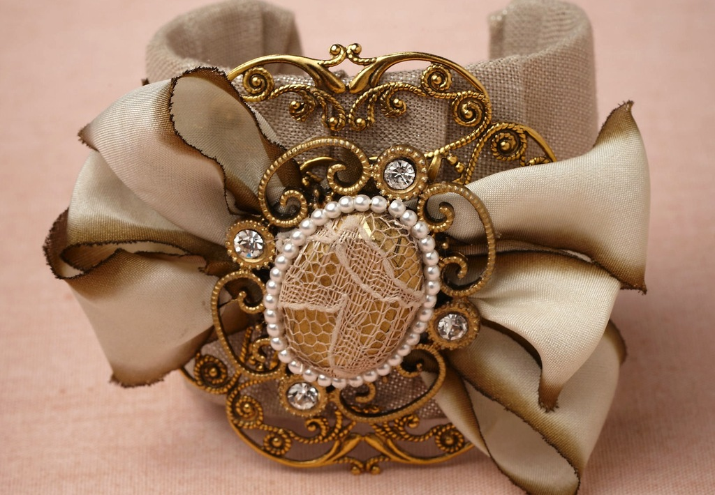 wedding jewelry for vintage brides BHLDN bridal cuff