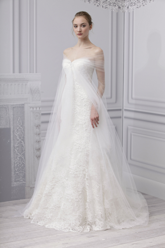monique lhuillier wedding dress inspired by anne hathaways wedding