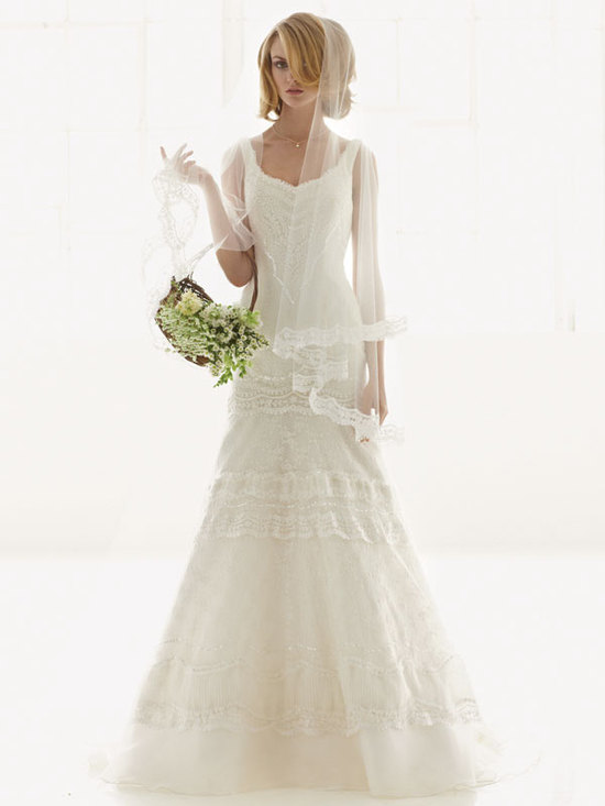 melissa sweet for davids bridal fall 2012 wedding dress bridal gown 251002