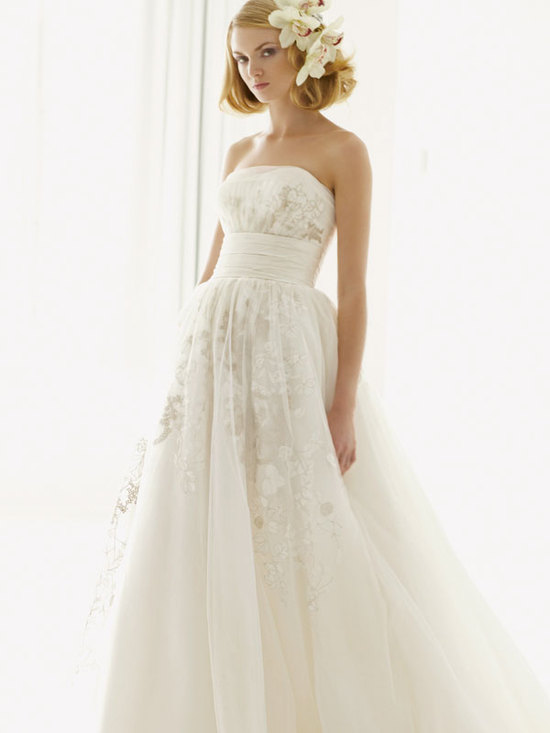 melissa sweet for davids bridal fall 2012 wedding dress bridal gown 251004