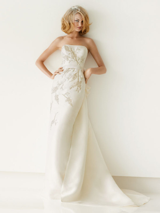 melissa sweet for davids bridal fall 2012 wedding dress bridal gown 251006