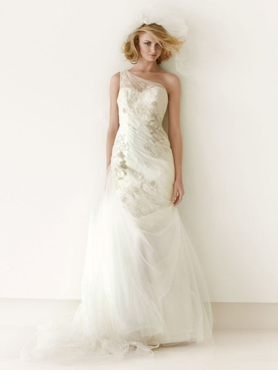 melissa sweet for davids bridal fall 2012 wedding dress bridal gown 251007