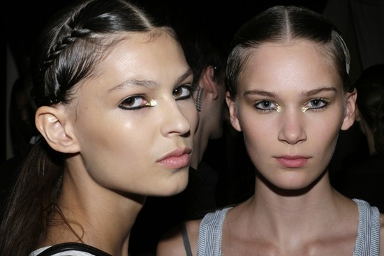 wedding hair makeup inspiration trends Milan fashion week marchesa