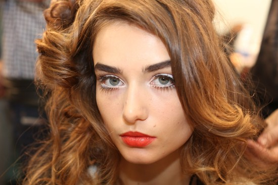 wedding hair makeup inspiration trends Milan fashion week Moschino 3