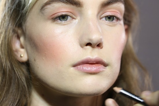 bridal beauty inspiration London fashion week wedding makeup ideas yamamoto bty