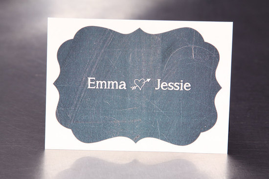 5 easy ways to personalize the wedding DIY weddings chalkboard stickers