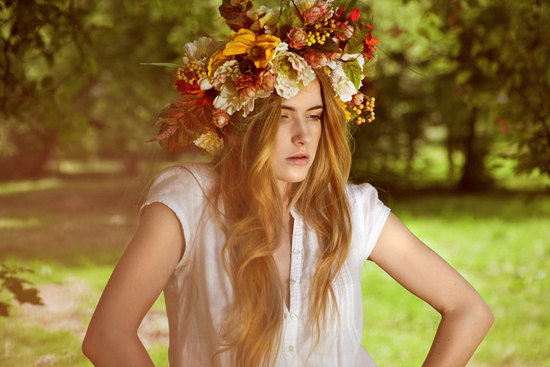 bohemian bridal crown wedding hair accessories
