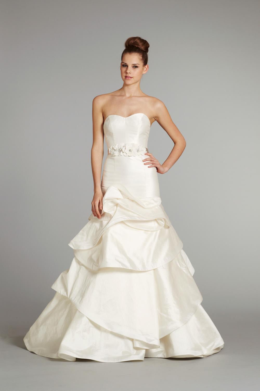 Bridal gown wedding dress jlm hayley paige fall 2012 pearl for Hayley paige wedding dresses