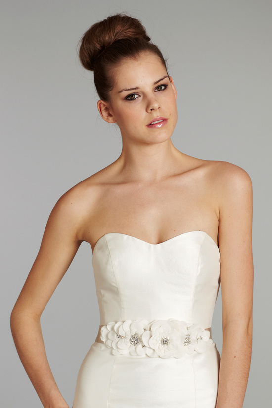 bridal gown wedding dress jlm hayley paige fall 2012 pearl front