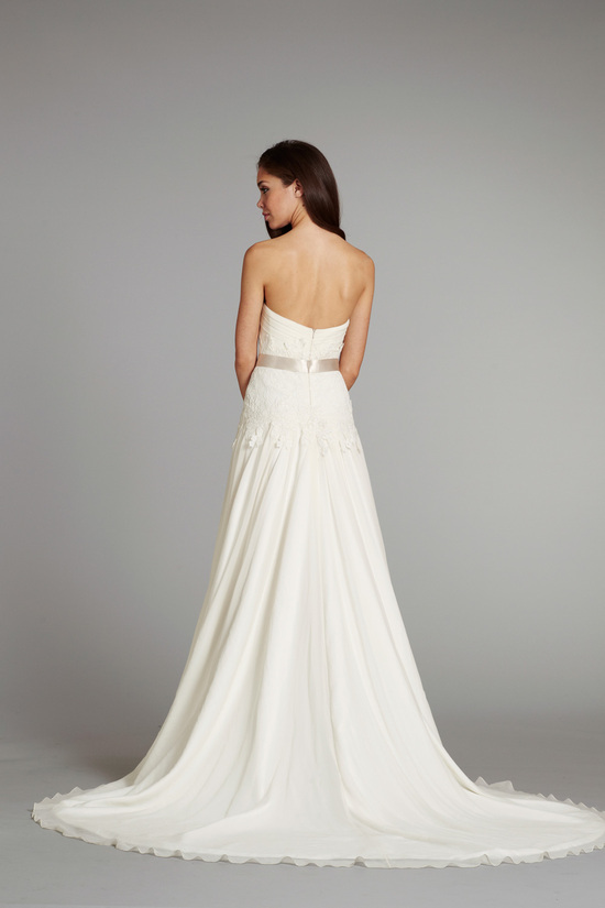 bridal gown wedding dress jlm hayley paige fall 2012 tuula front