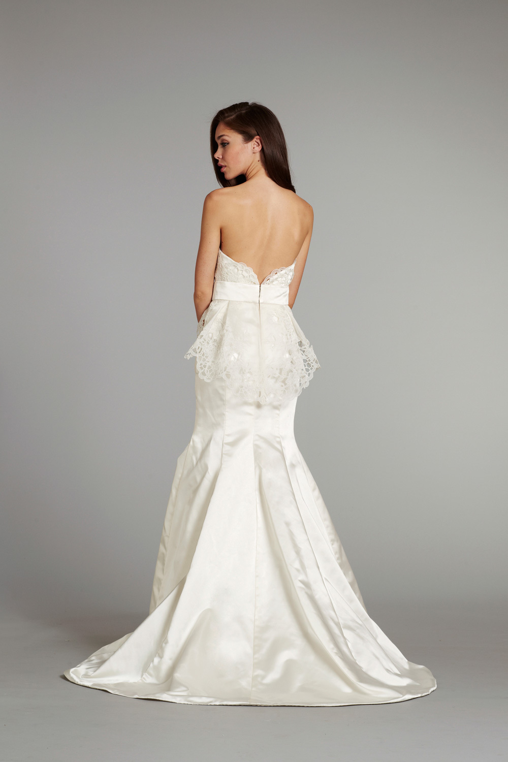 bridal gown wedding dress jlm hayley paige fall 2012 sloane front