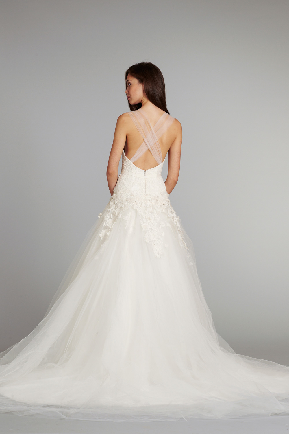 Bridal gown wedding dress jlm hayley paige fall 2012 for Hayley paige wedding dress