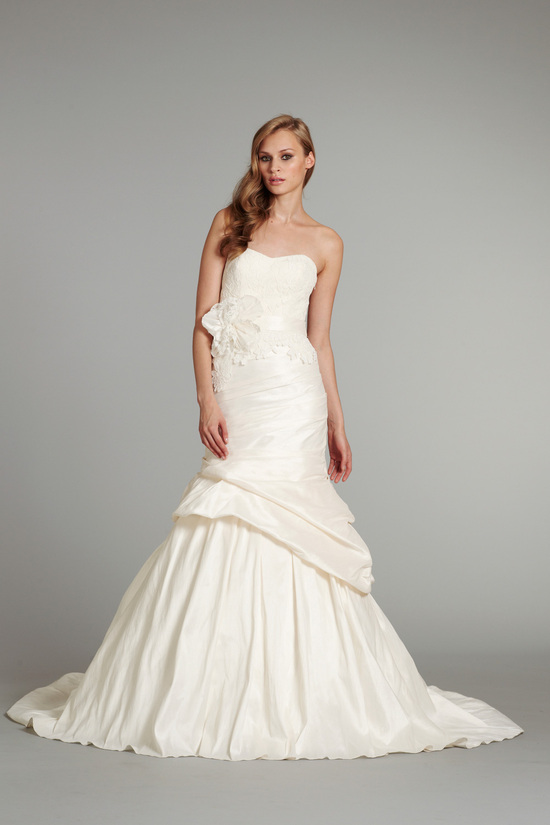 bridal gown wedding dress jlm hayley paige fall 2012 lulu front