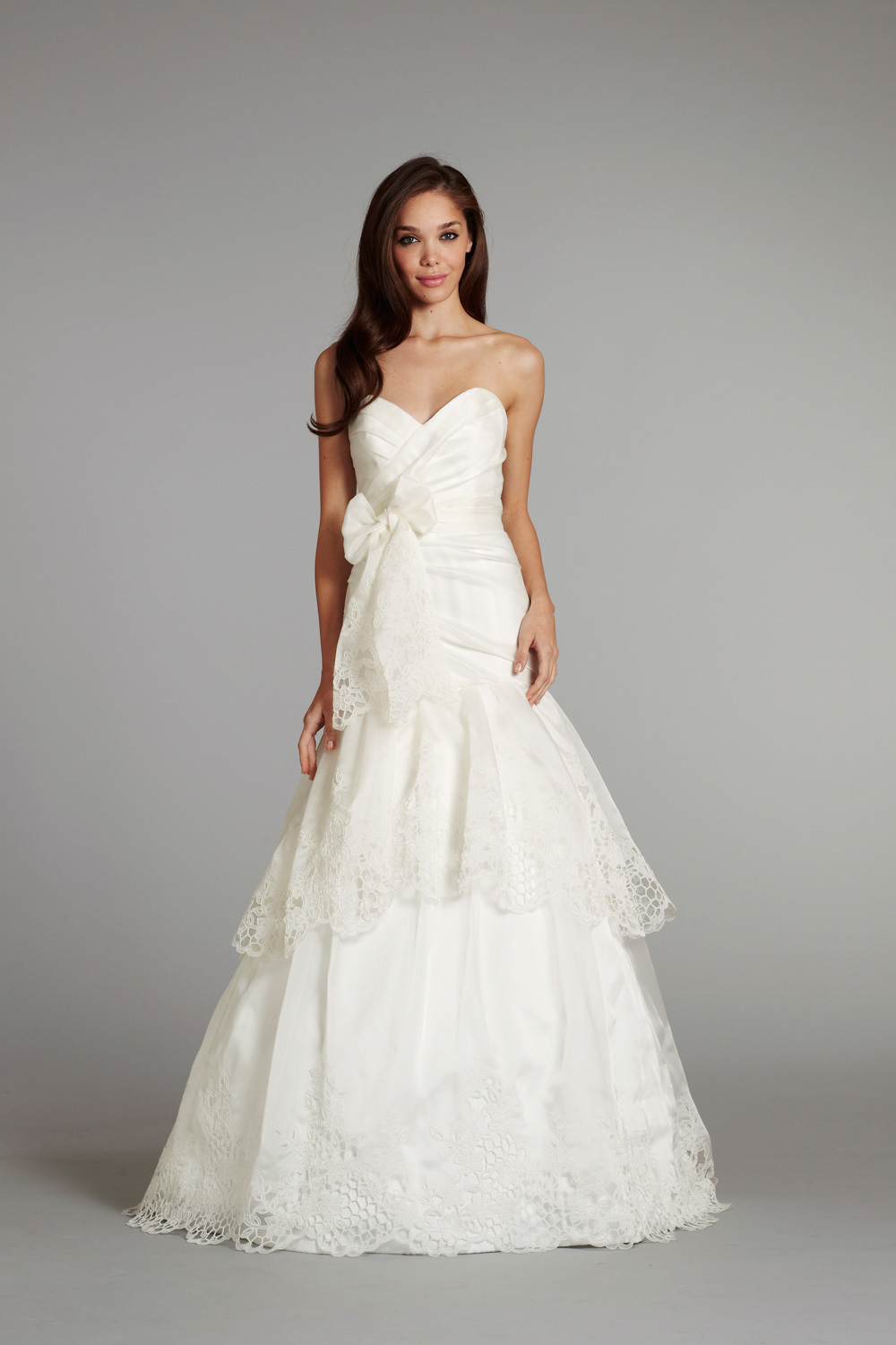 bridal gown wedding dress jlm hayley paige fall 2012 savannah front