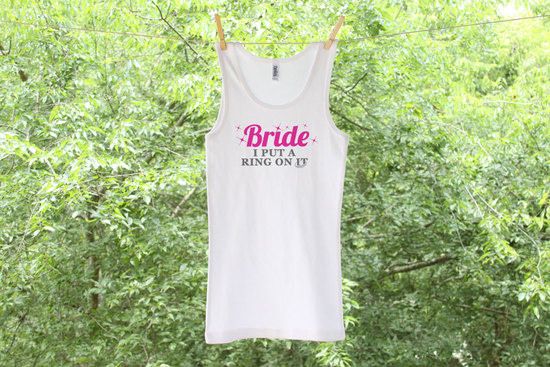 9 awesome bachelorette party gifts ring on it tank