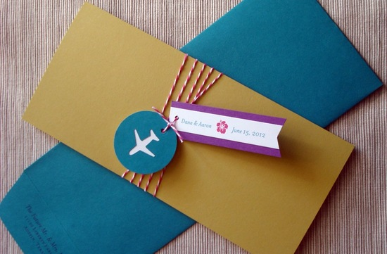 retro wedding invitations travel themed catch me if you can