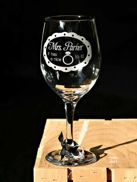 good bad ugly of bachelorette party gifting custom wine glass