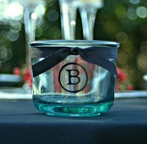 photo of good bad ugly of bachelorette party gifting custom votive holder