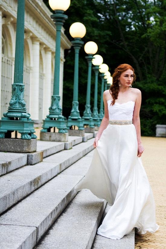 photo of 6 stunning handmade wedding dresses and bridal accessories 2