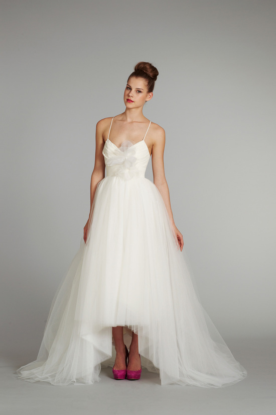 bridal gown wedding dress jlm hayley paige blush fall 2012 lilac white front