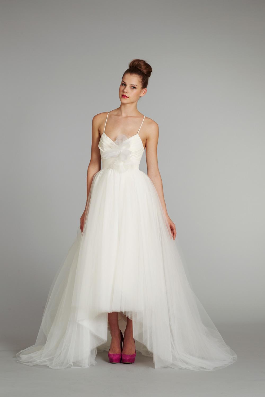 Bridal gown wedding dress jlm hayley paige blush fall 2012 for Hayley paige wedding dresses