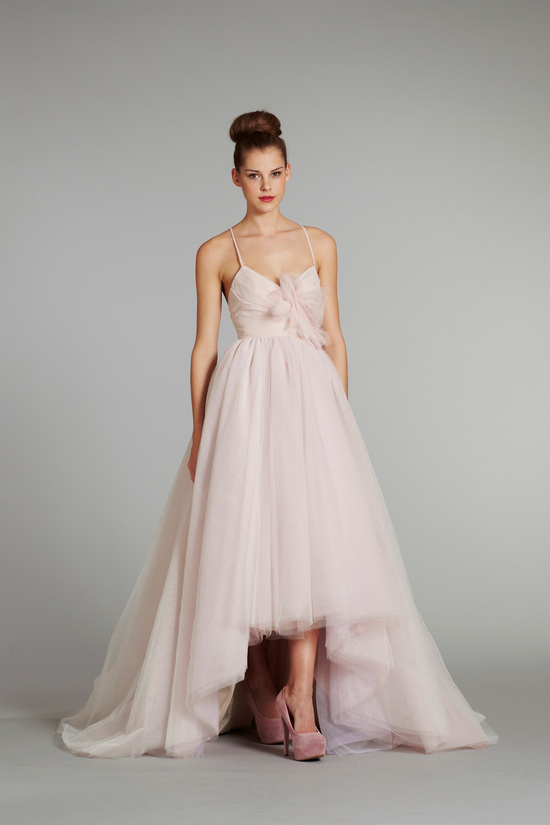 bridal gown wedding dress jlm hayley paige blush fall 2012 lilac front