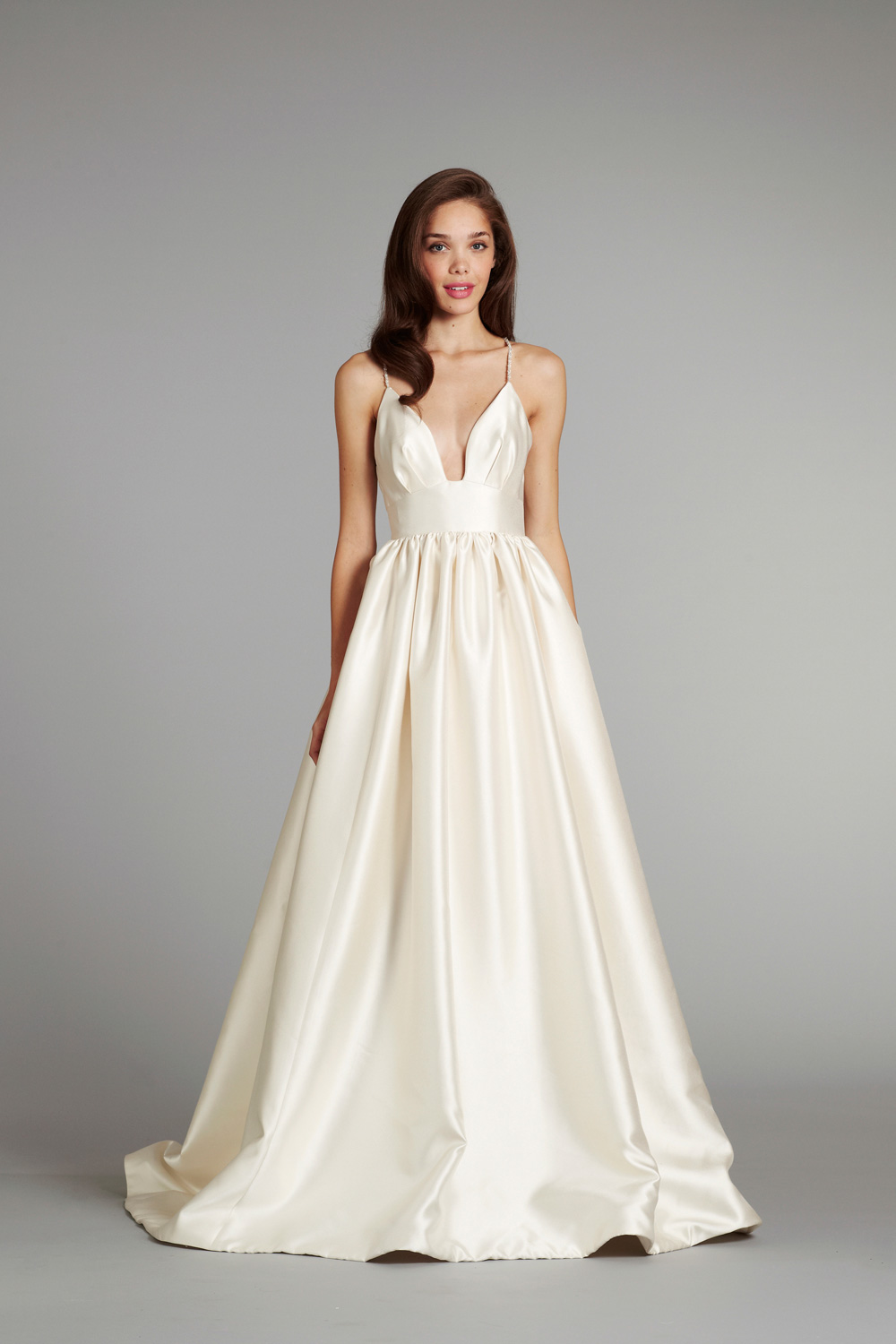 Bridal gown wedding dress jlm hayley paige blush fall 2012 for Hayley paige wedding dress