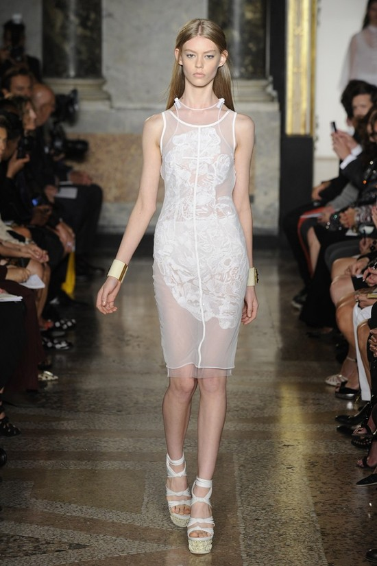 nearly white gowns perfect for the wedding Fashion Week inspiration pucci 3