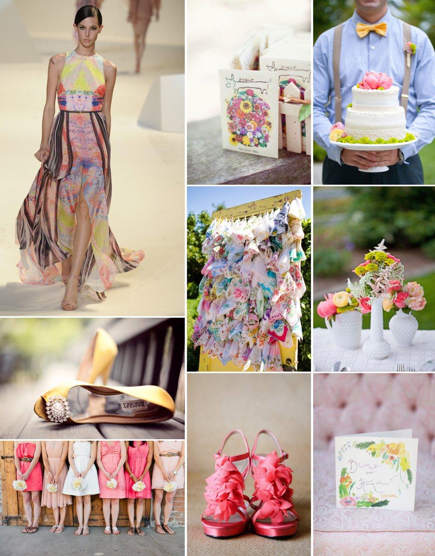 Stunning-wedding-color-combination-coral-light-yellow-soft-aqua-pink-green.full