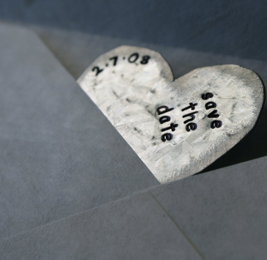 wedding save the dates 5 more brilliant ideas magnetic hearts