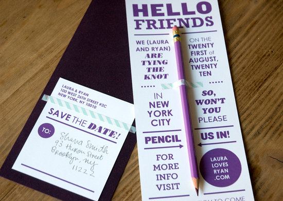 wedding save the dates 5 more brilliant ideas pencil us in