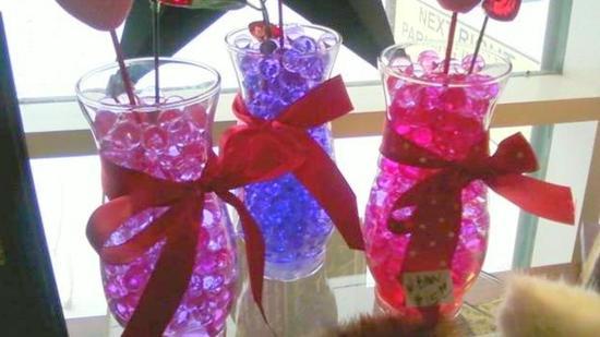 photo of Water Beads . Net