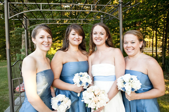 photo of Blushing Brides