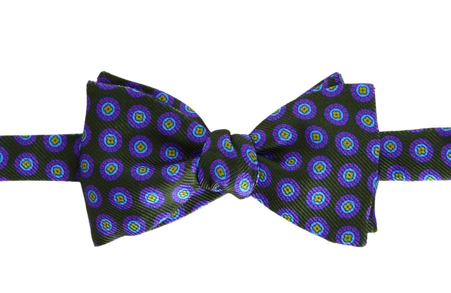 grooms wedding attire awesome bow ties for stylish guys green purple
