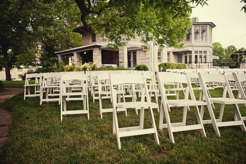 Kansas City Wedding Outdoor Ceremony