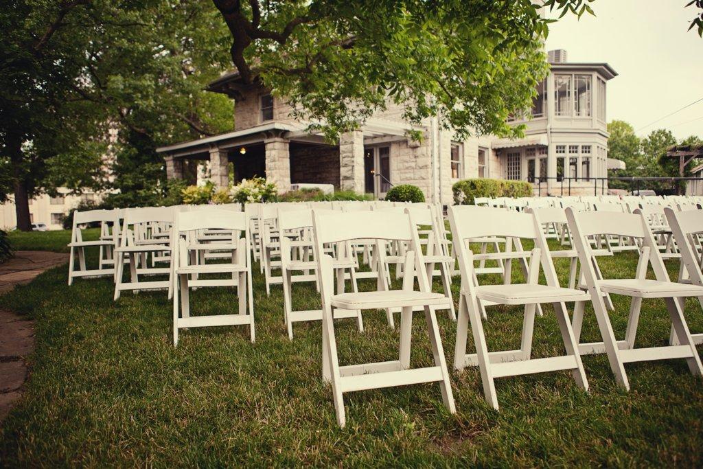 City Wedding Outdoor Ceremony