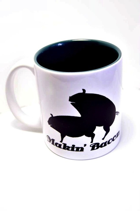 5 funny gifts for groomsmen makin bacon mug