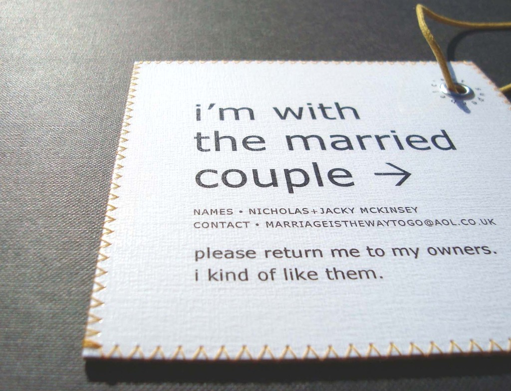 5 funny gifts for groomsmen luggage tags