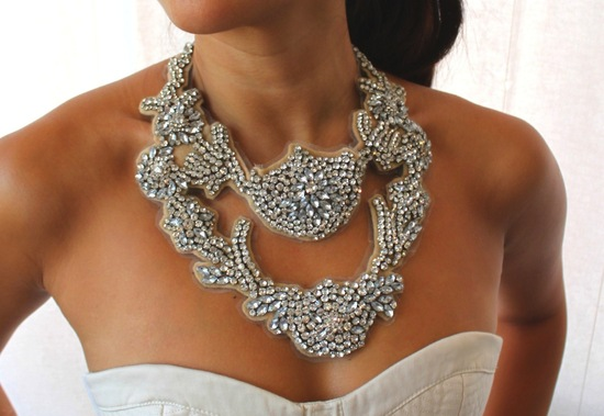 bejeweled bride wedding accessories statement necklace 2
