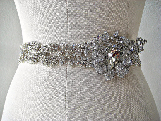 bejeweled bride wedding accessories bridal belt