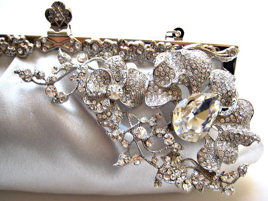 bejeweled bride wedding accessories bridal clutch 1