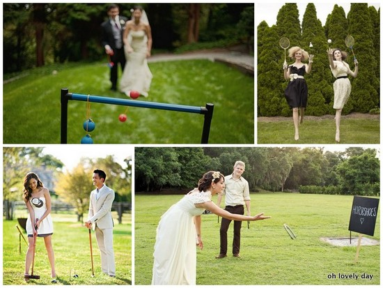 photo of wedding lawn games2
