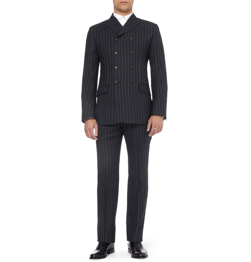wedding tuxedo alternatives for modern grooms alexander mcqueen pin stripes