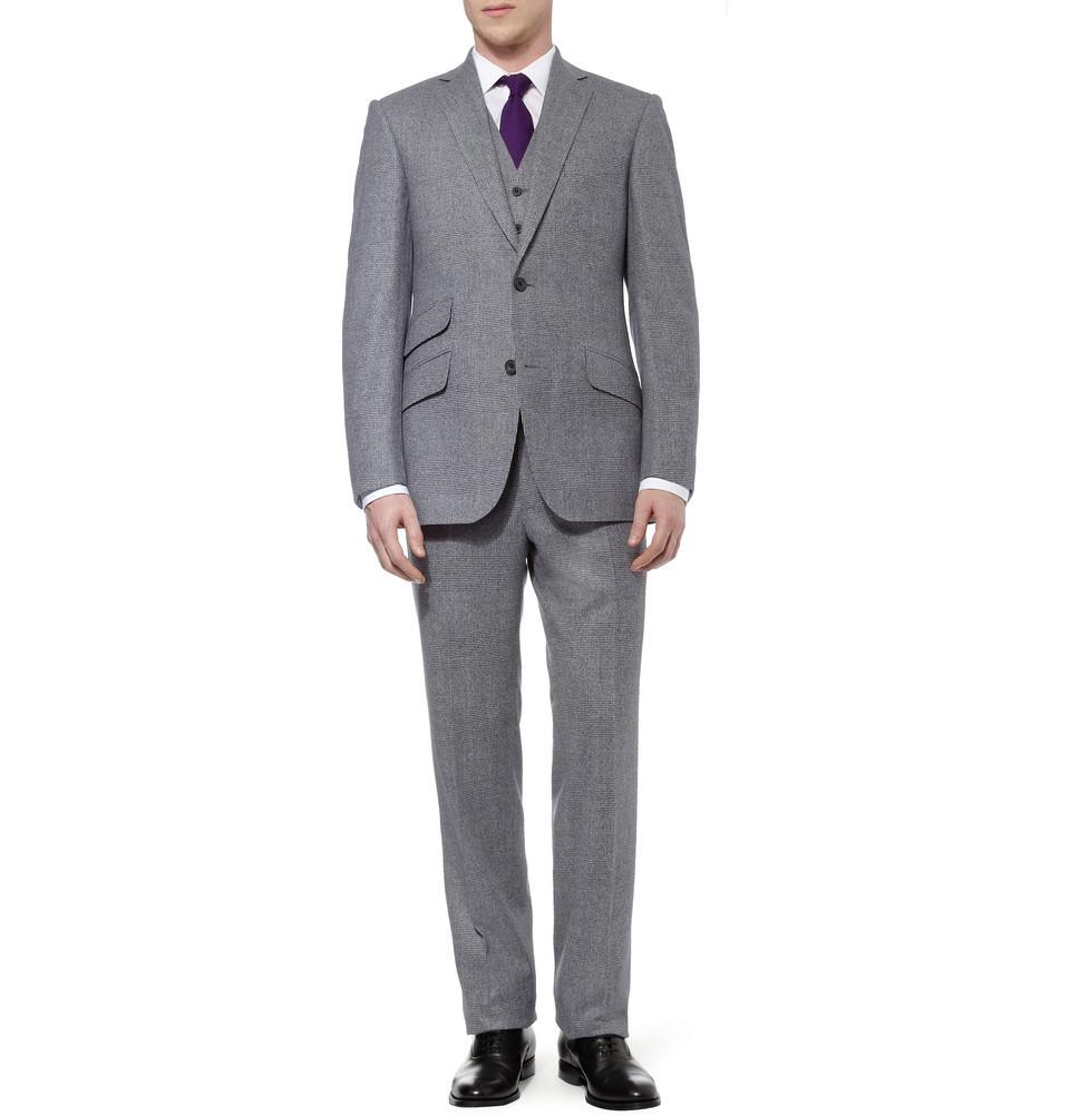 Wedding-tuxedo-alternatives-for-modern-grooms-gray-purple-tie.full
