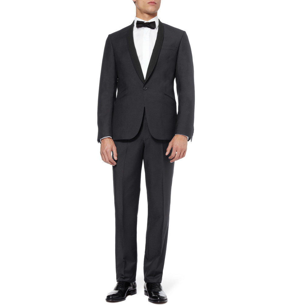 Wedding Tuxedo Alternatives For Modern Grooms Shawl Collar Wool Tux