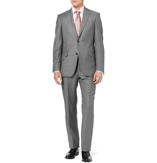 wedding tuxedo alternatives for modern grooms gray with pink tie